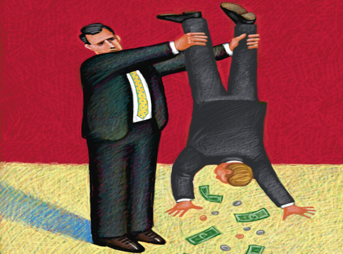 взымание долгов