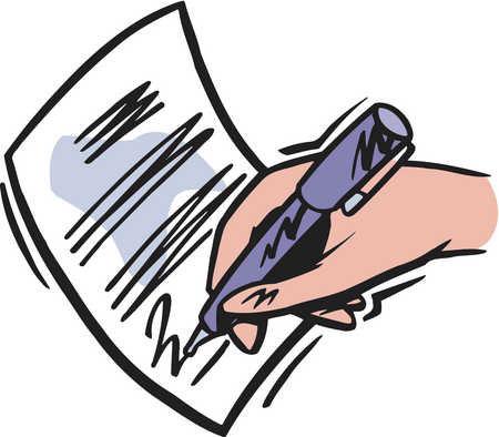как написать расписку о получении денег