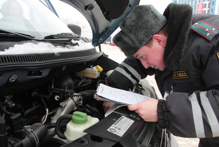 проверка номера двигателя авто при постановке на учет